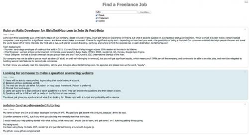 fruehlance - пошук фріланс пропозицій